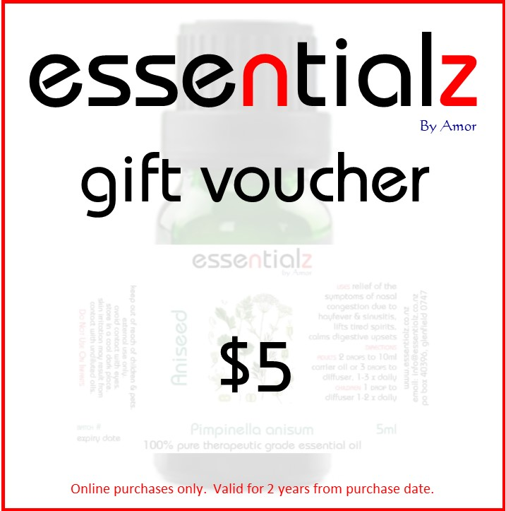 Gift Certificate $ 5.00